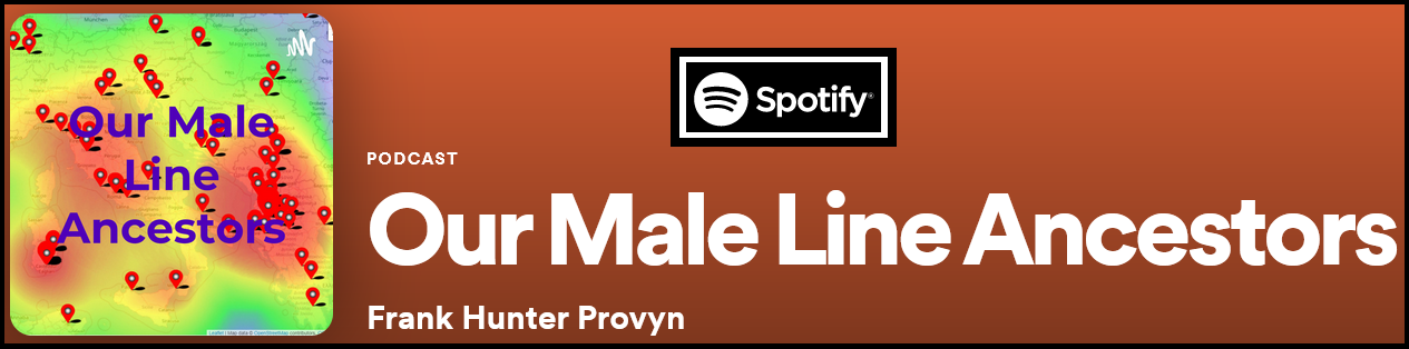Our Male Line Ancestors Podcast on Spotify